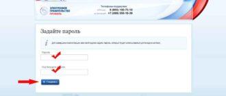 пароль для госуслуги